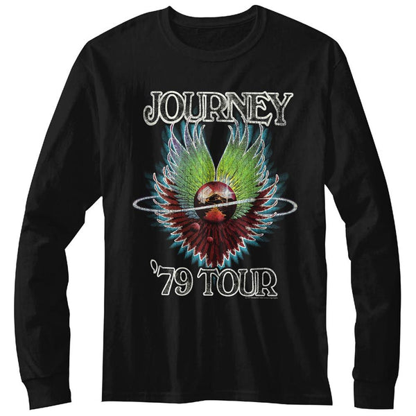 Journey - 1979 | Black L/S Adult T-Shirt - Coastline Mall