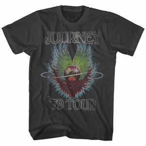 Journey-1979-Smoke Adult S/S Tshirt