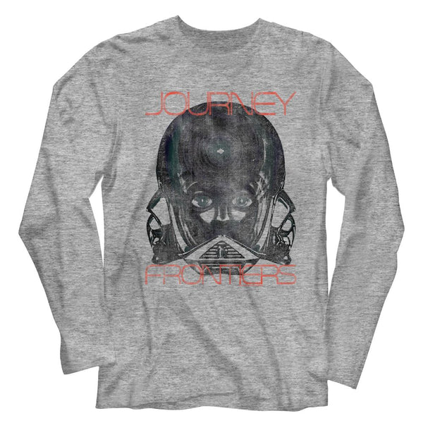 Journey-Frontiers-Gray Heather Adult L/S Tshirt