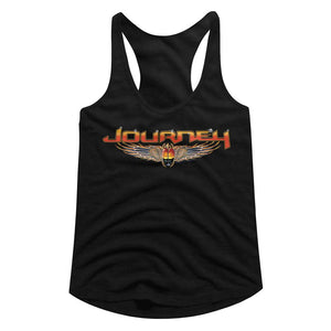 Journey-Journey-Black Ladies  Racerback
