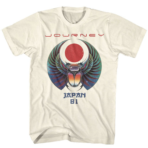 Journey-Japan 81-Natural Adult S/S Tshirt