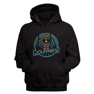Journey-Journey '81-Black Adult L/S Sweatshirt Hoodie