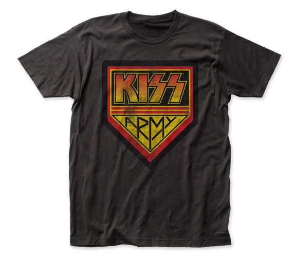 KISS Kiss Army fitted jersey tee