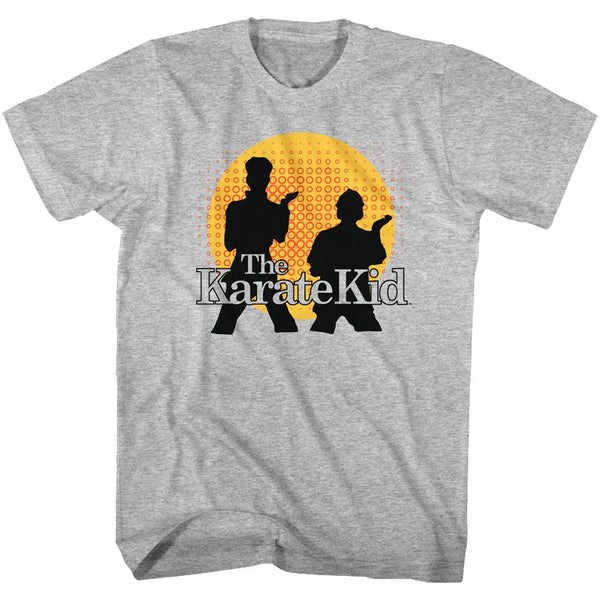 Karate Kid-The Karate Kid-Gray Heather Adult S/S Tshirt