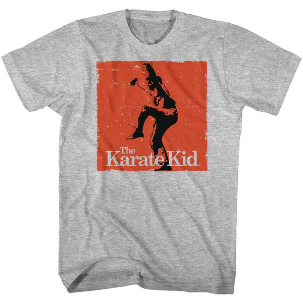 Karate Kid-Karate-Gray Heather Adult S/S Tshirt - Coastline Mall