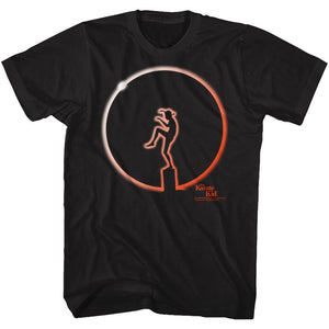 Karate Kid-Planet Claire-Black Adult S/S Tshirt