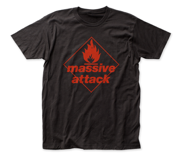 Massive Attack Blue Lines fitted jersey tee