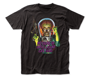 Mars Attacks Intelligent Life fitted jersey tee