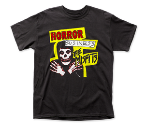 Misfits Horror Business Front-Back Print adult tee