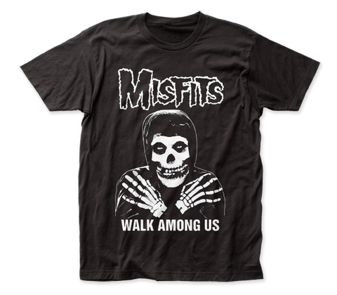 Misfits Walk Among Us fitted jersey tee
