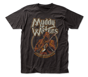 Muddy Waters Father of Chicago Blues fitted jersey tee