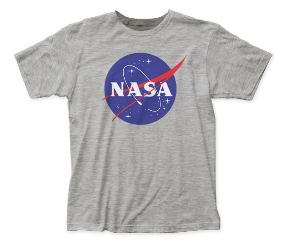 NASA Logo fitted jersey tee