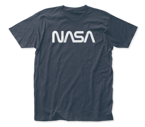 NASA Retro Logo fitted jersey tee