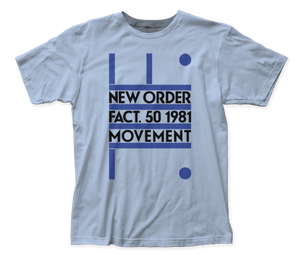 New Order Fact. 50 1981 Movement fitted jersey tee