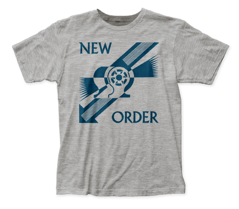 New Order Everything's Gone Green fitted jersey tee