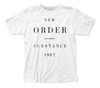 New Order Substance 1987 fitted jersey tee - Coastline Mall