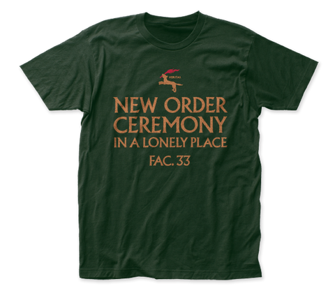 New Order Ceremony fitted jersey tee