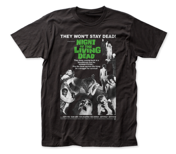 Night of the Living Dead Poster adult tee