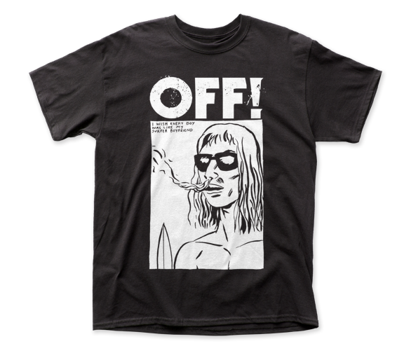 OFF! Surfer Boyfriend adult tee