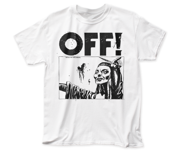 OFF! - Satan Did Not Appear | White S/S Adult T-Shirt - Coastline Mall