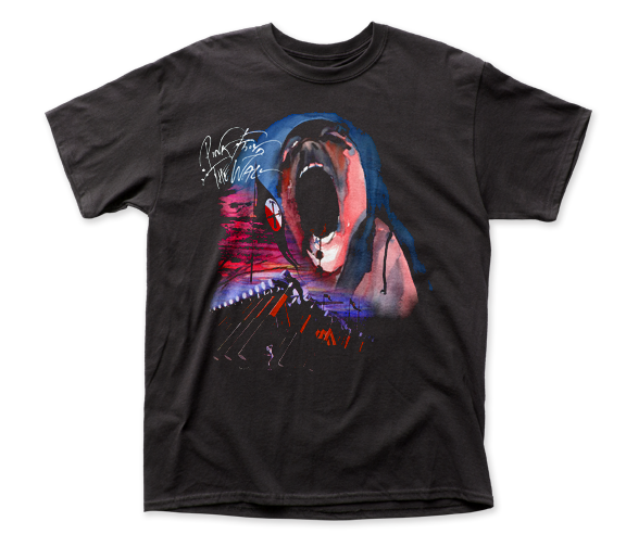 Pink Floyd Hammer March with Face adult tee
