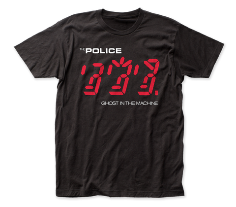 The Police Ghost in the Machine fitted jersey tee