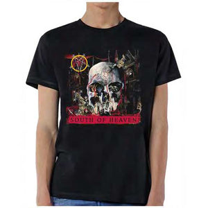 Slayer South Of Heaven Men's Licensed Thrash Metal T-Shirt
