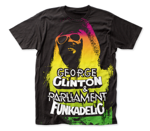 Funkadelic George Clinton big print subway tee