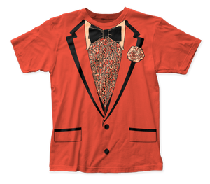 Impact Originals Retro Prom Orange big print subway tee