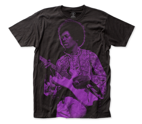 Jimi Hendrix Purple Haze subway tee