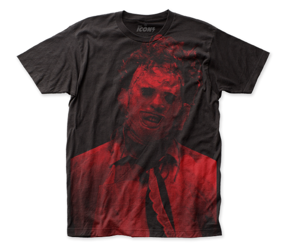 Texas Chainsaw Massacre Leatherface big print subway tee