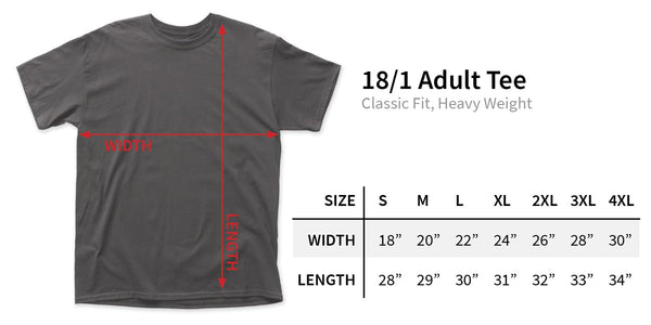 Wipers Over the Edge adult tee