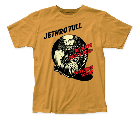 Jethro Tull Too Young to Die fitted jersey tee
