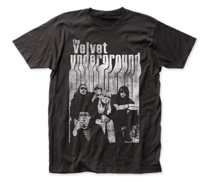 Velvet Underground Band with Nico fitted jersey tee