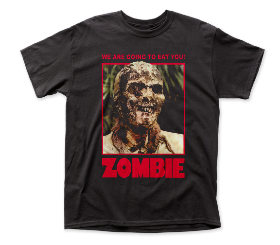Zombie We Are Going To Eat You! adult tee