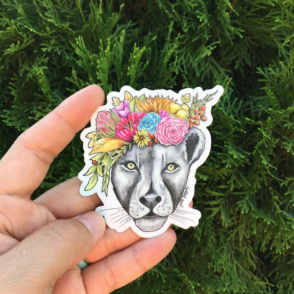 Lioness Vinyl Sticker - June Poppies Designs