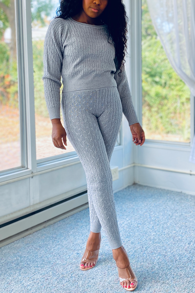 The Sweater Set | Heather Grey