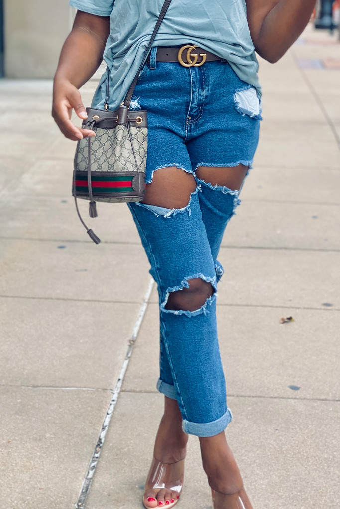 Not Your Mom's High Waist Jeans | Medium Wash