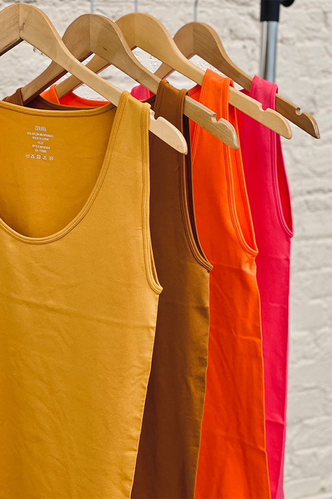 The Perfect Seamless Tank Tops (Plus Size)