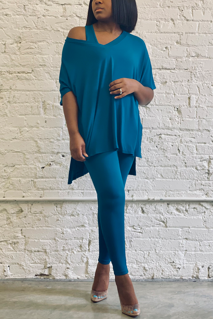 The Buttery Soft Legging Set | Teal