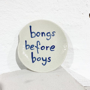 Bongs Before Boys - Side Plate