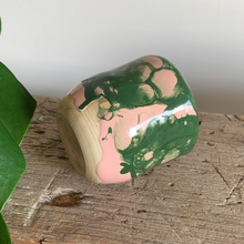 Load image into Gallery viewer, SALE - Small Cup - Green/Pink #2/3