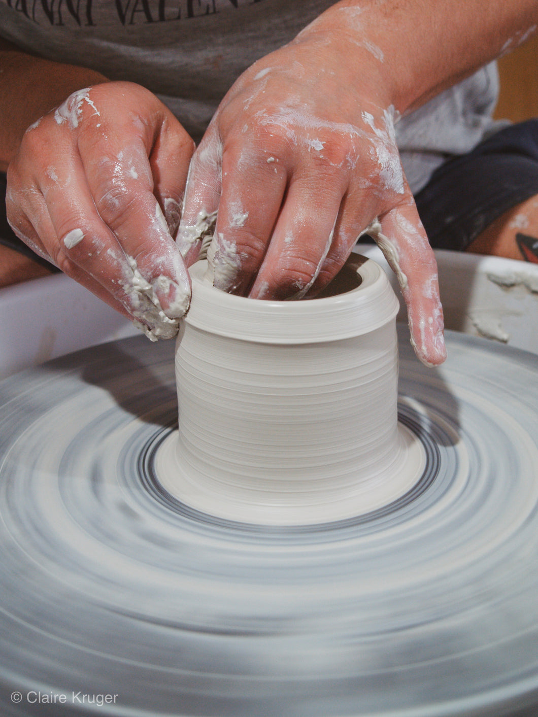Term 1 2020 - Pottery Wheel Class - 7 Weeks