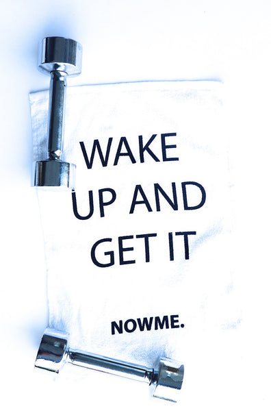 Wake Up and Get It Towel
