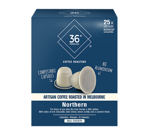 36P Northern Blend - 25 Compostable Nespresso® Compatible Capsules