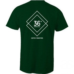 36-parallel-coffee,36P - Staple Crew Tee,36th parallel specialty coffee roasters,Tee Shirts