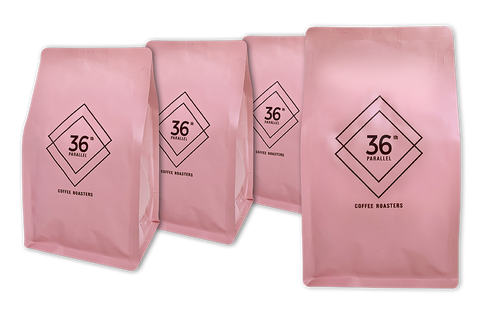 36-parallel-coffee,36th Parallel Coffee - DECAF- 4 PACK of 250 gram - Beans (4 Pack),36th parallel specialty coffee roasters,Beans (4408765153374)