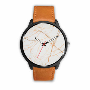 Copper and White Marble Watch