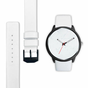 White Marble Watch