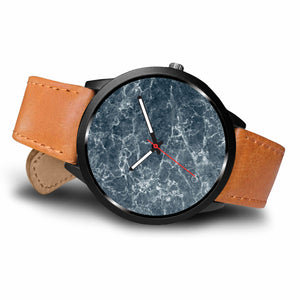 Navy Marble Watch